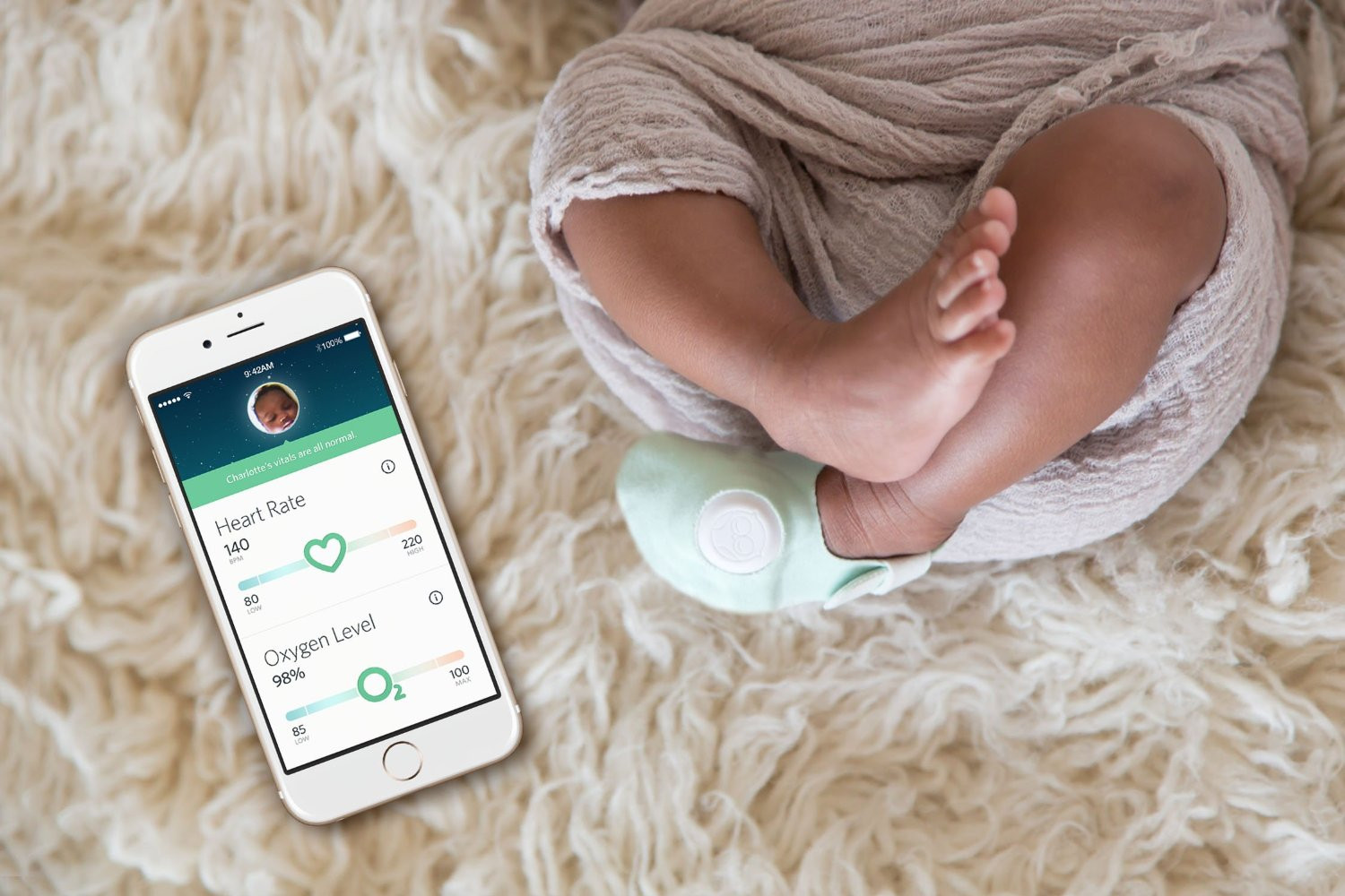 Our Review Of The Owlet Smart Sock Hush Little Baby