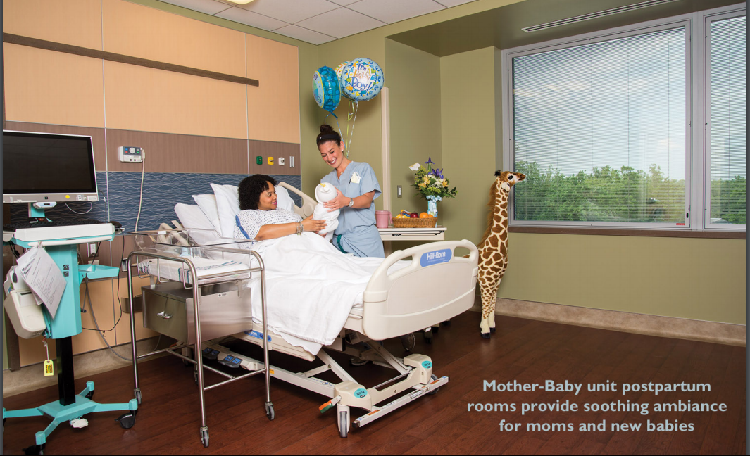 Stony Brook Hospital Delivery Room