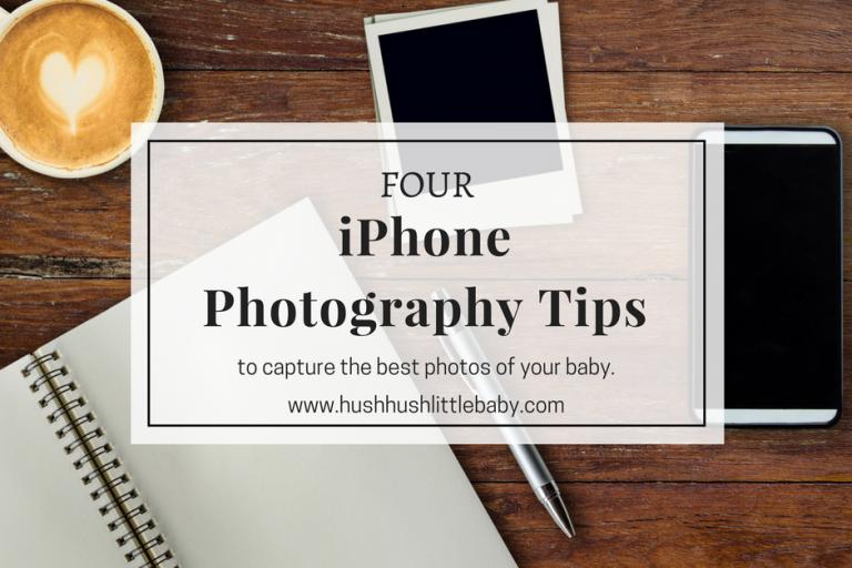 iPhone newborn photography tips