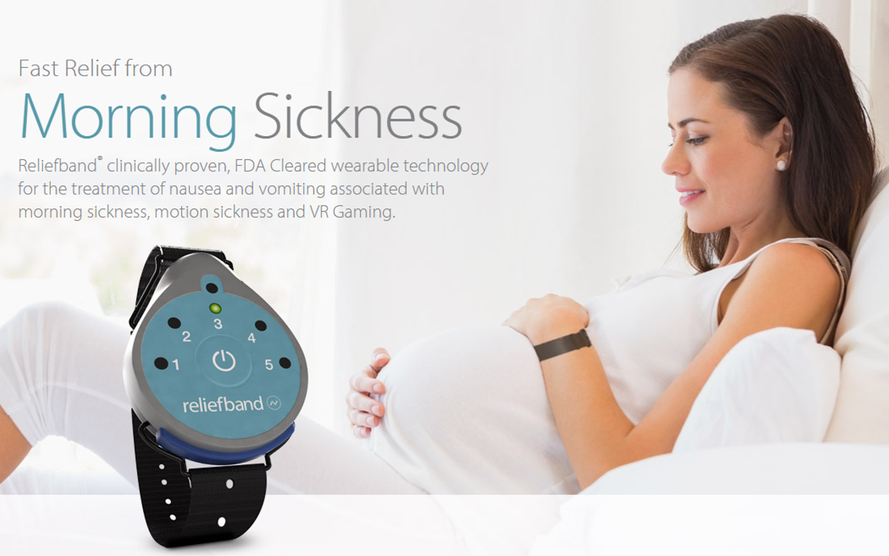 A Tech Company Just Created aDrug-free Cure for Morning Sickness