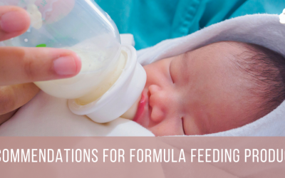 Recommendations for Formula Feeding Products
