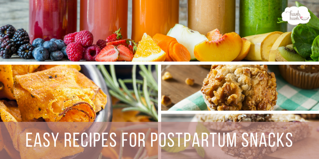 Easy Recipes for Postpartum Snacks