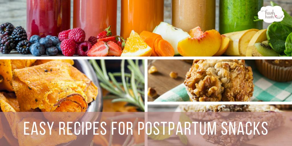 Postpartum Snacks