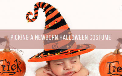 Picking a Newborn Halloween Costume