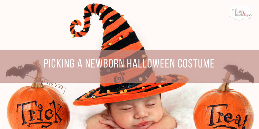 Picking a Newborn Halloween Costume
