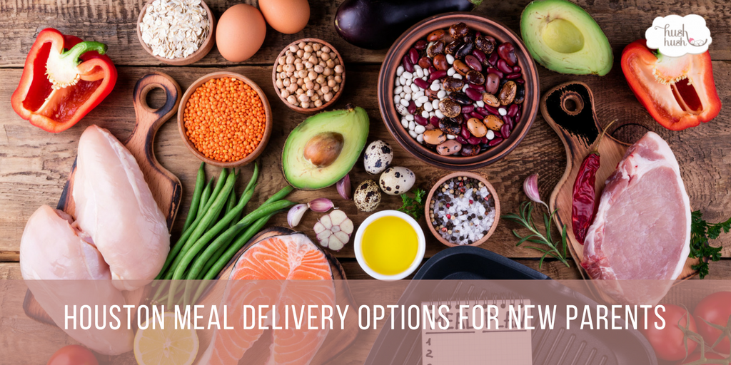 Houston Meal Delivery Options for New Parents