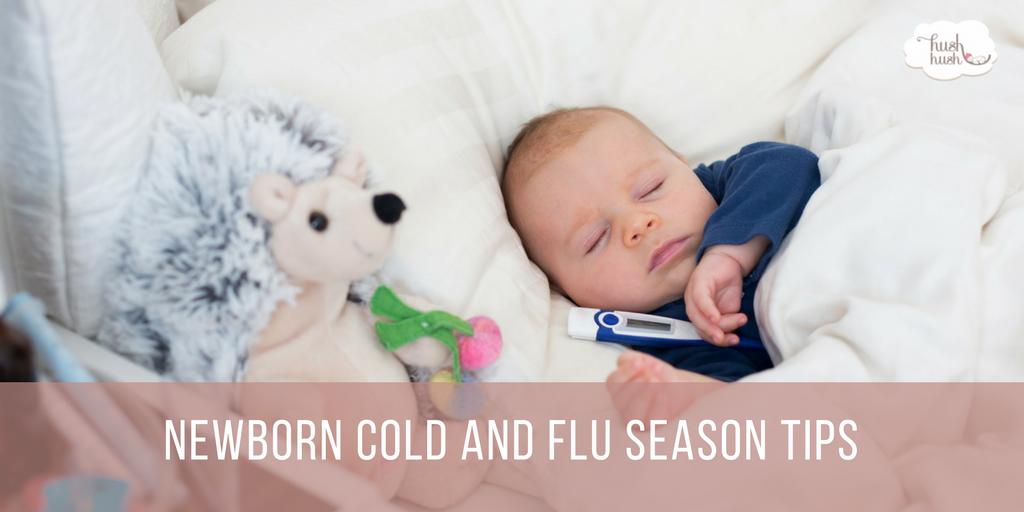 Newborn Cold and Flu Season Tips