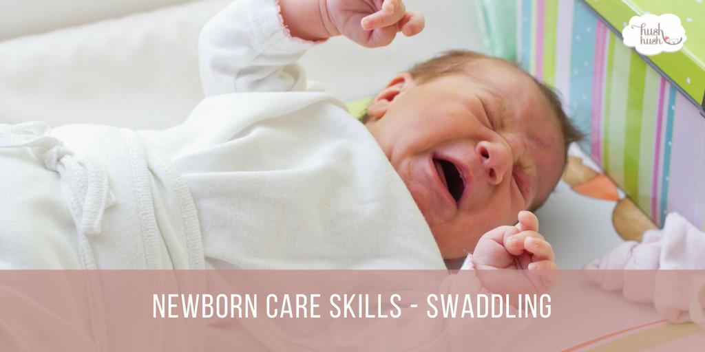Newborn Care Skills – Swaddling