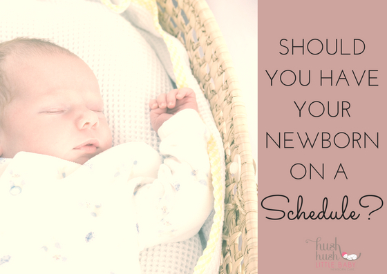 Should You Have a Newborn Schedule?