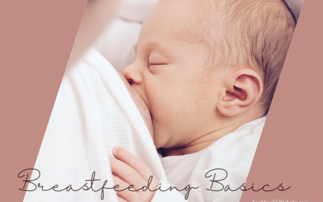 breast feeding a new born